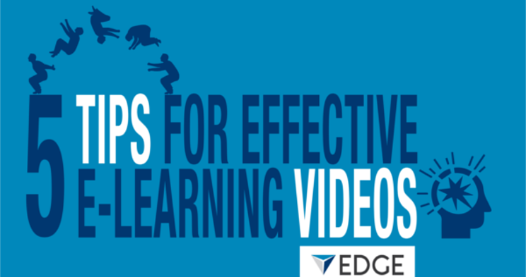 Infographic: 5 Tips for Effective e-Learning Videos